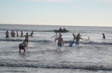 Swimmers brave the sea to raise money for Ballycotton Lifeboat