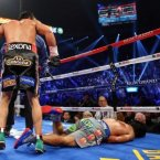 Marquez and Pacquiao were in their fourth fight against each other: Pacquiao had won two of the previous bouts and they had boxed to a draw in the other one. Each match had been very close and very controversial, but the fourth would turn out to be the best fight of their rivalry and of the year.