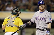 Star slugger Hamilton leaves Texas for Angels‎