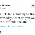 Not just any American Football analyst, Monson is an Irish-based one.
