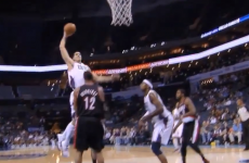 VIDEO: Watch this monster dunk from Charlotte's Byron Mullens