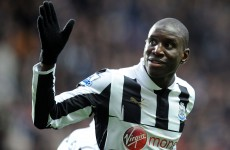 Ba, Humbug: Pardew willing to cash in on unsettled striker