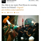 One man and his inflatable hammer takes on the entire Poznan police force. 