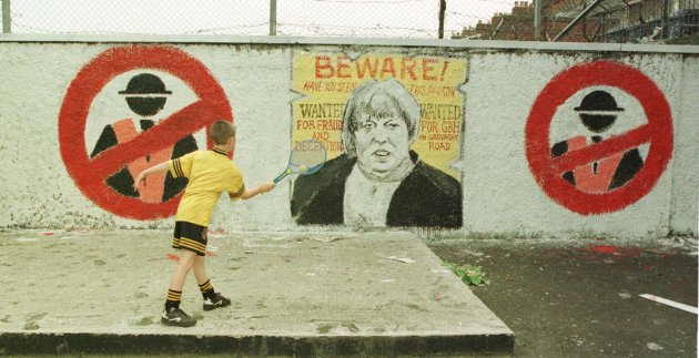 ULSTER mural tennis player