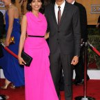 We love Freida Pinto and Dev Patel. She is divine. Great colour. (© Vince Flores / AFF-USA.COM)
