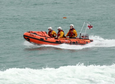 File photo of RNLI rescue workers