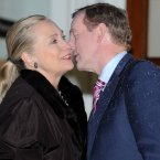Meeting former US Secretary of State Hillary Clinton. Pic: Laura Hutton/Photocall Ireland