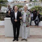 Bill Murray and Bruce Willis are pals (AP Photo/Lionel Cironneau)