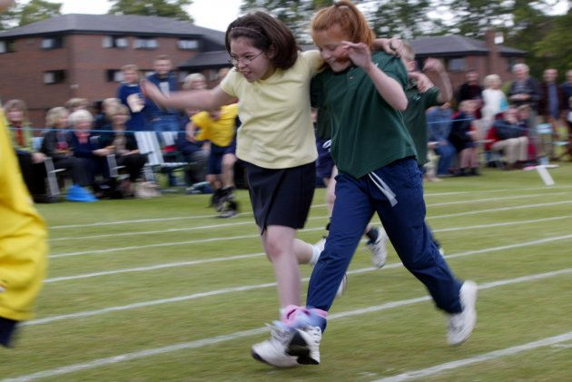 Athletics - The Elms School Sports Day
