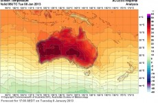 Record heat sees Australia map upgrade