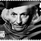 William Hartnell, the first Dr Who, as he appears on the Royal Mail's new stamp. (AP Photo/Royal Mail)