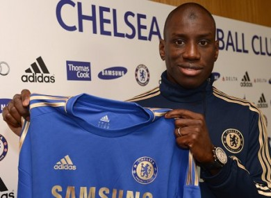 Ba with the Chelsea jersey. 