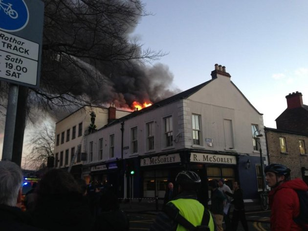 fire in ranelagh