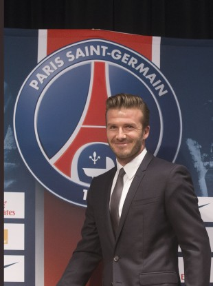 David Beckham has signed for PSG.