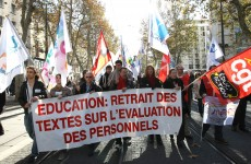 French teachers strike over plans to work 5-day week