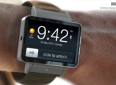What the iWatch could look like.