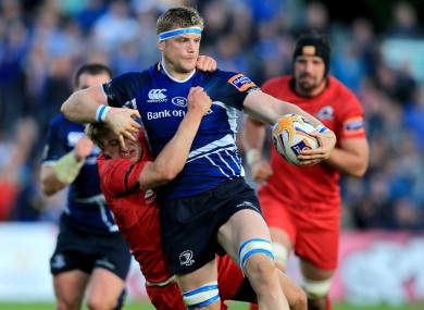 Jamie Heaslip in action against Edinburgh in September.