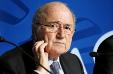 Blatter: Clubs involved in racism could be relegated