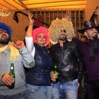 Lebanese partygoers celebrate the new year. (AP Photo/Bilal Hussein)