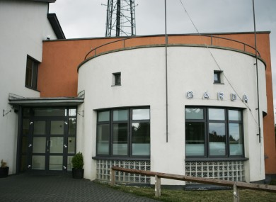 Blanchardstown Garda Station where teh two men are being held (File photo)