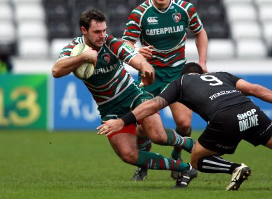 Niall Morris scored a crucial try against Leicester last weekend.