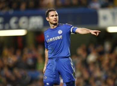 Lampard's future has been the subject of much speculation of late.