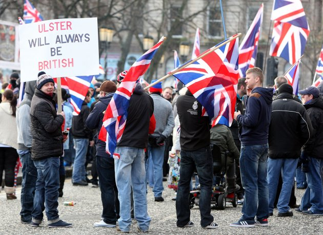 Union Flag protests