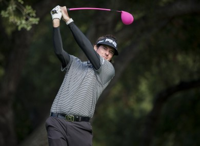 Bubba Watson is one of four major winners in the field.