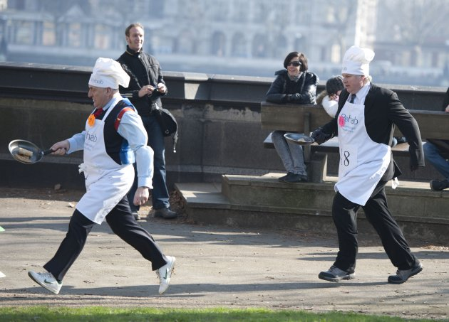2011 Parliamentary Pancake Race - London