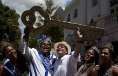 'Let there be peace and joy': Rio kicks off five-day Carnival