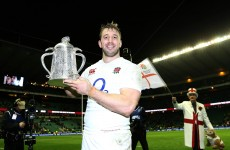 Conor O'Shea: Outstanding Robshaw focused on delivering 6 Nations title