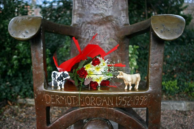 Dermot Morgan memorial