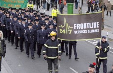 Emergency workers set for national rally on pay cuts