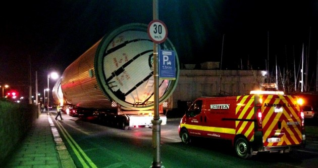 PICS: Guinness tanks move through Dublin overnight