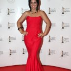 Lucy Kennedy arriving on the the red carpet for the 10th Annual Irish Film & Television Awards at the Convention Centre, Dublin.