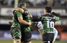 RaboDirect Pro12 round-up: Connacht edge Cardiff Blues, as Ulster narrowly beaten