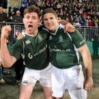 The years have been good to Ireland's Liam Toland and Simon Keogh. 