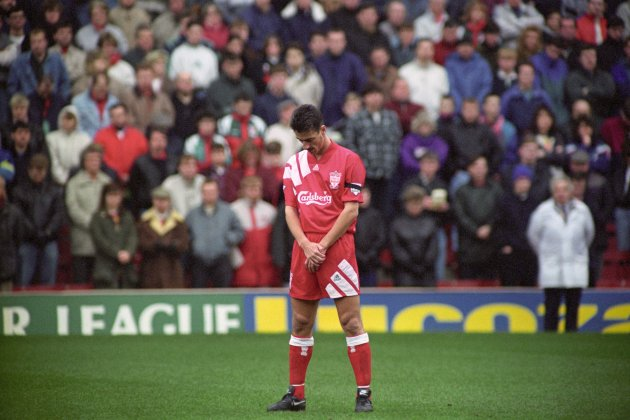 LIVERPOOL STRIKER IAN RUSH