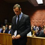 Oscar Pistorius enters the court room during the second day his bail hearing. ©Pic Chris Ricco/BackpagePix