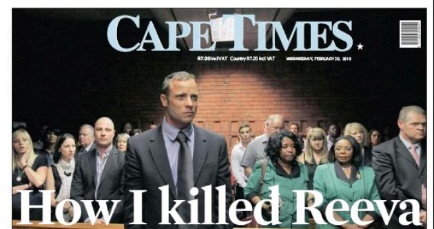 Front Pages: South Africa's papers report Pistorius case
