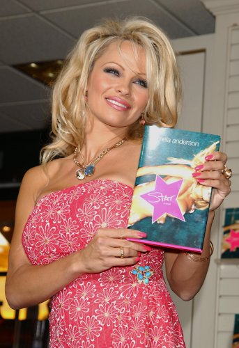 Pamela Anderson's Star: A Novel book signing
