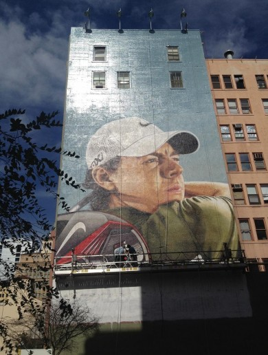 Rory McIlroy — the new face of Nike is also the new face of this San Diego building