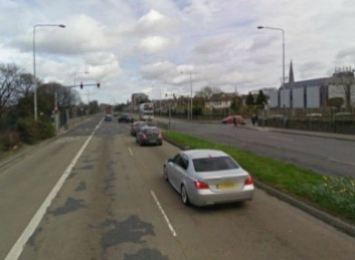 Con Colbert Road in Dublin near where the shooting took place (File photo)