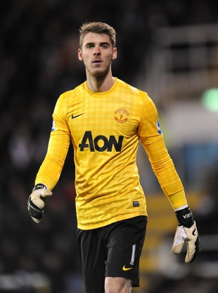David De Gea (file photo).