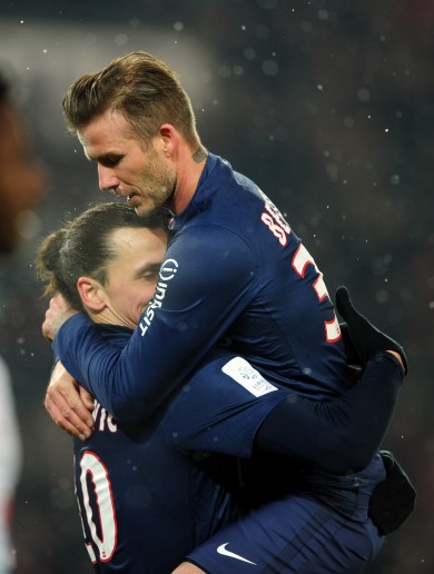 VIDEO: Here's why David Beckham is the toast of Paris this morning