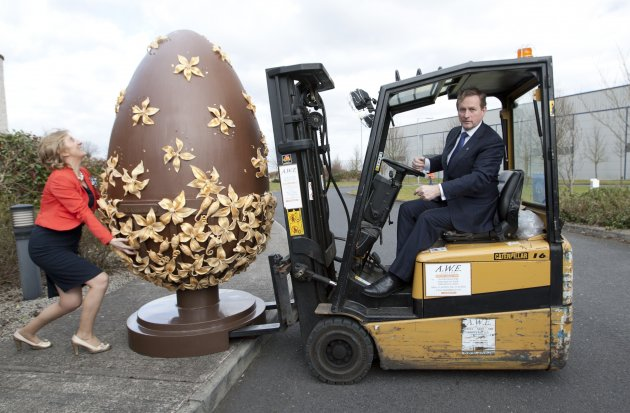 1/3/2013. Giant Easter Eggs