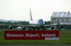 Vigil at Shannon Airport marks 10 year anniversary of Iraq war