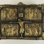 The Domhnach Airgid Shrine 1350. (Image via The Royal Irish Academy)