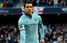 Manchester City star Carlos Tevez charged with driving ban breach