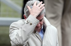 Caption time: What was Michael O'Leary saying to himself at Cheltenham earlier?